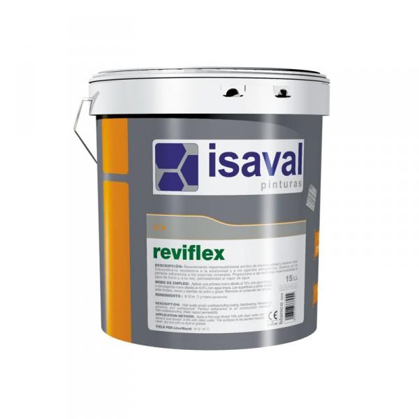 Фасадная краска на основе силоксановых смол РЕВИФЛЕКС 15 л.