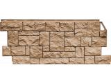 Фасадная панель Fineber Дикий камень Серо-зеленый 1117*463 . Сайдинг