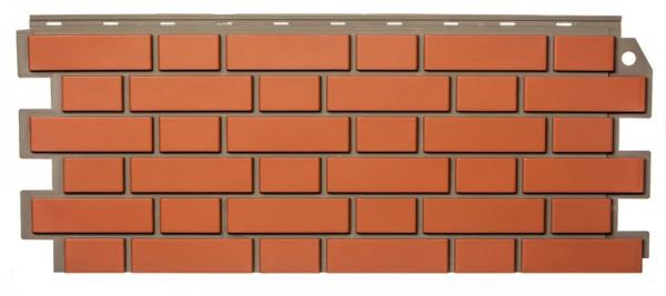 Фасадная панель Fineber Кирпич Керамический 1130*463 мм. Сайдинг