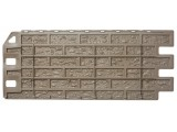 Фасадная панель Fineber Кирпич Мелованный белый 1137*470 мм. Сайдинг