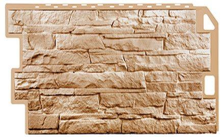 Фасадная панель Fineber Скала Терракотовый 1094*459 мм. Сайдинг