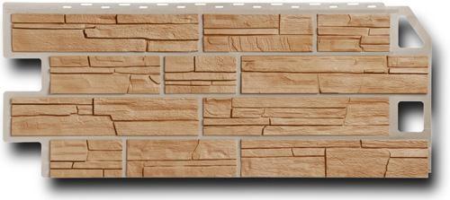 Фасадная панель Fineber Сланец Терракотовый 1137*470 мм. Сайдинг