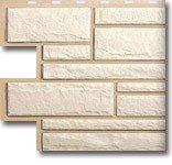 Фото  1 Фасадная панель Камень Белый 1756211