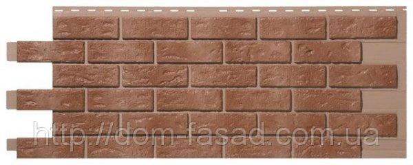 Фото  1 Фасадная панель Кирпич Brown blend 1756456