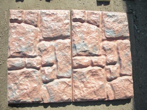Фасадная плита «Бутовый камень», 580*390*30