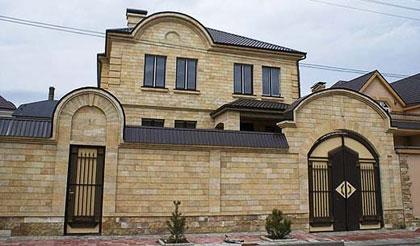 Фасадная плитка из натурального камня, для отделки фасадов, дымарей, интерьерных решений внутри помещений.
