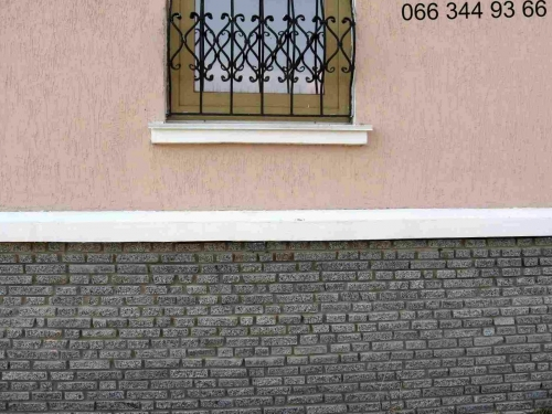 Фасадная плитка, плитка фасадная гранитная для облицовки цоколя дома, стен.