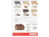 Сайдинг виниловый FineBer -стандарт и блок хаус-широкая цветовая гамма, а также с имитацией дерева, камня, кирпича, сланца.