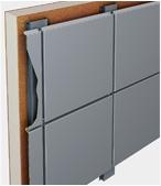 фасадные панели и кассеты (вентилируемые фасадные системы)