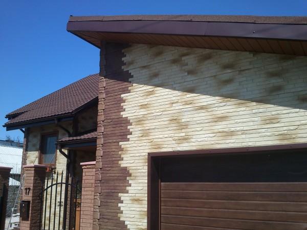 Фасадные панели под кирпич. Сайдинг
