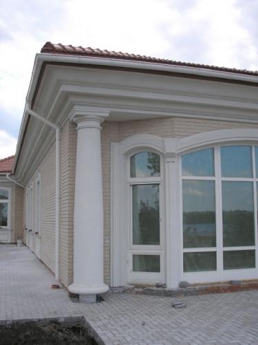 Фасадный декор, архитектурные элементы любой сложности. . Изготовление, монтаж. г. Запорожье.