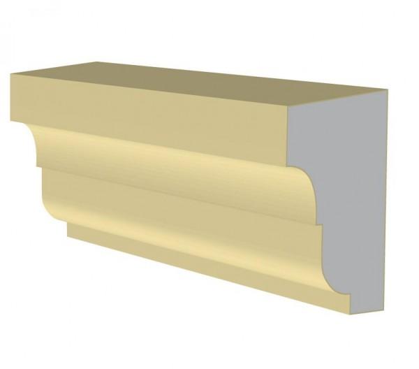 фасадный пенопластовый подоконник п004