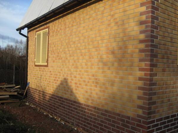 Фасадное утепление с использованием термопанелей с клинкерной плиткой в Херсоне. Н.