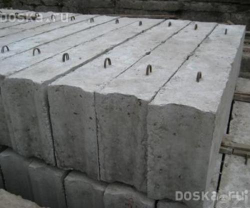 ФБС 3,4,5,6 БЛОК ФУНДАМЕНТНЫЙ (М-100). Доставка гидро-краном.