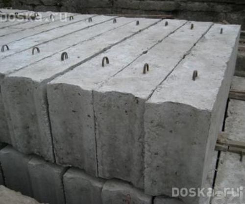 ФБС, Блоки фундаментные, Панели перекрытия, Перемычки, Кольца бетонные.