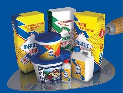 ФЕРОЗИТ 140 - клей для пенобетона и газобетона (для пеноблоков и газоблоков, макс. механические показатели): 25 кг