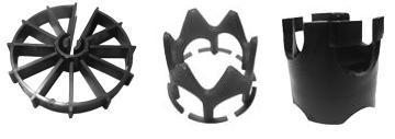 Фиксаторы защитного слоя для арматуры, звездочка (10/5) 2, диаметр арматуры мм 5 упаковка шт. 5000
