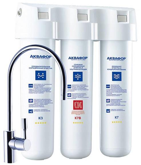 Фильтр для питьевой воды Аквафор Кристалл Эко