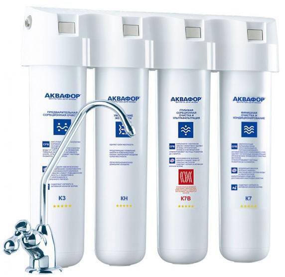 Фильтр для питьевой воды Аквафор Кристалл Эко Н