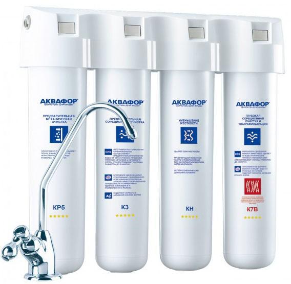 Фильтр для питьевой воды Аквафор Кристалл Квадро НВ