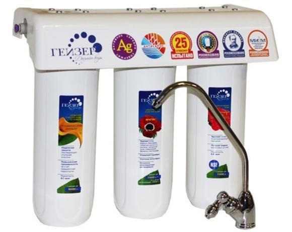 Фильтр для питьевой воды Гейзер 3ВК