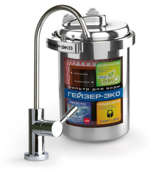 Фильтр для питьевой воды Гейзер Эко