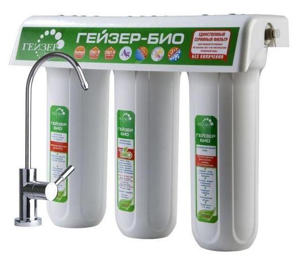 Фильтр для питьевой воды Гейзер Ультра Био 421