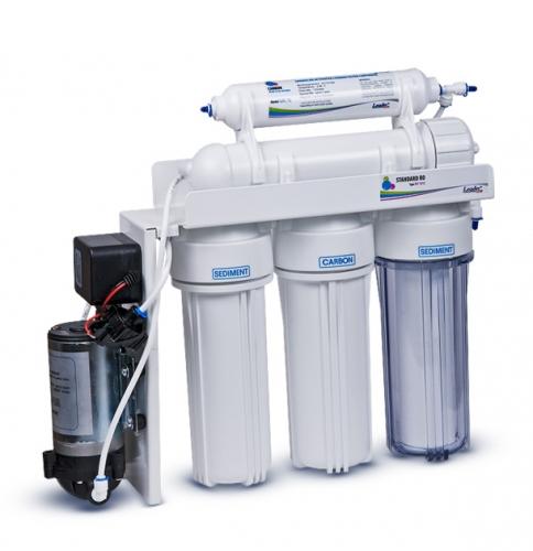Фильтр для воды — система обратного осмоса Leader RO-5 pump (с повысительным насосом)