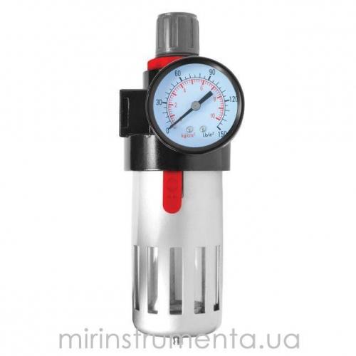 Фильтр очистки воздуха + редуктор в металле 1/2 INTERTOOL PT-1410