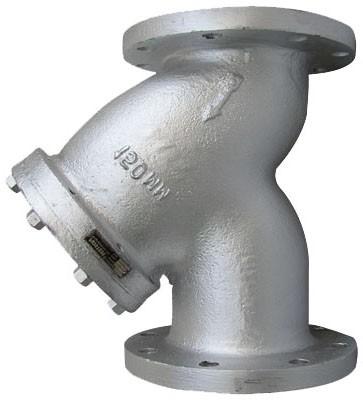 Фильтр осадочный, фильтр грубой очистки. Фильтр фланцевый из н/ж стали, Ру=16, Ду от 15 до 300