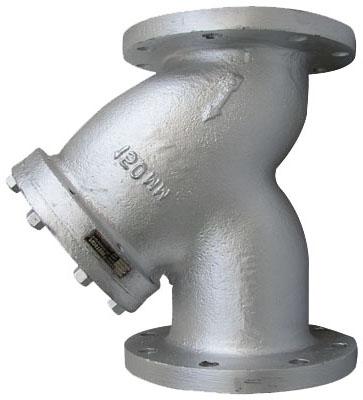 Фильтр осадочный фланцевый нерж., Ру16, Ду50-200, н/ж сталь AISI304, 316