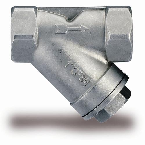 Фильтр осадочный муфтовый из нерж. стали, Ру25, Ду6-50, из н/ж стали AISI304, 316