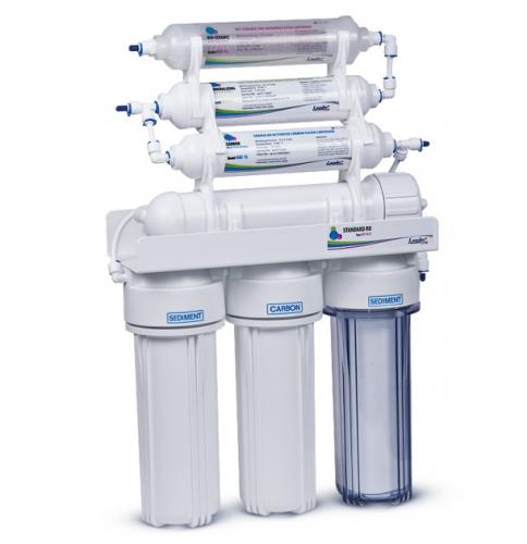 Фильтр воды — система обратного осмоса Leader RO-6 Bio (с минерализатором и биокерамичиеским картриджем)