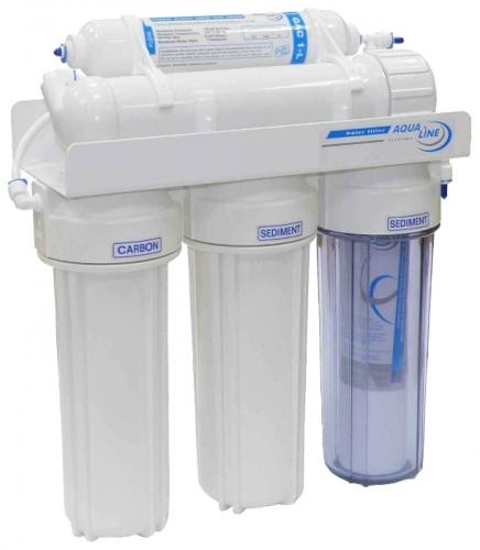 Фільтр води - система зворотного осмоса AquaLine RO-5