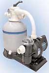 Фильтрационные системы для воды в бассейне.