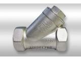 Фильтр угловой нержавеющий У-образный Dn 10 AISI 304