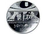 Фото  1 Финальный турнир чемпионата Европы по футболу 2012 серебро монета 20 грн 2011 1973780