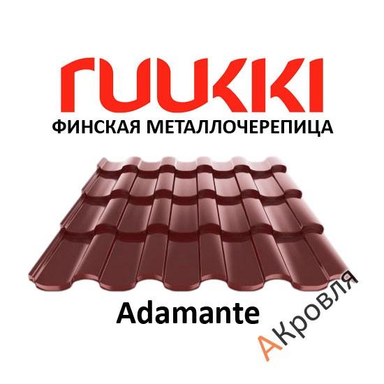 Финская металлочерепица Ruukki Adamante