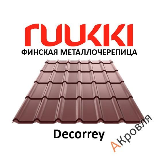 Финская металлочерепица Ruukki Decorrey