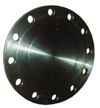 Фланец стальной - глухой Ду 100, Ру-16