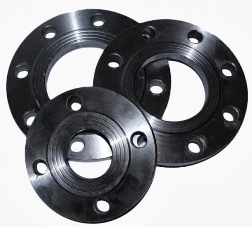 Фланец стальной - плоский Ду 200 (Ру-10, 16, 25)