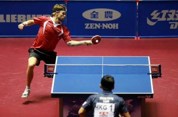 Фото 2 Спортивный линолеум для настольного тенниса TENNIS DE TABLE (Франция) 339401