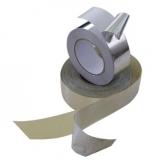 Фольга алюминиевая самоклеящаяся 30 мкм 50мм*50м