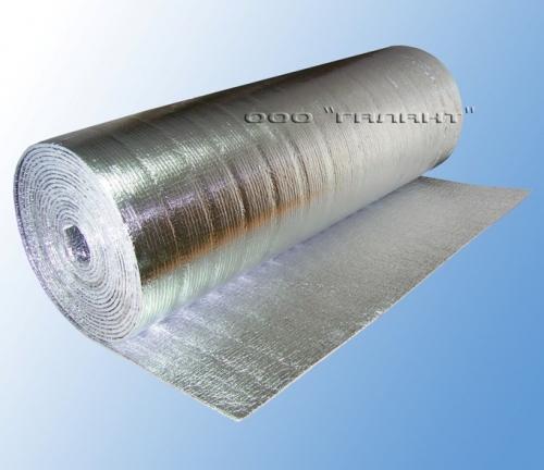Фольгированная теплоизоляция БестИзол. Вспененный полиэтилен с алюминевой фольгой - тепло-, паро-, звукоизоляция.