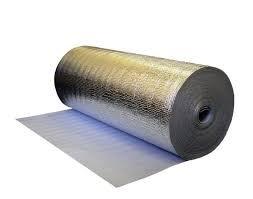 Фото  1 Фольгоизол (фольгопергамин) рулонный- рубероид с алюминиевым покрытием. 71109