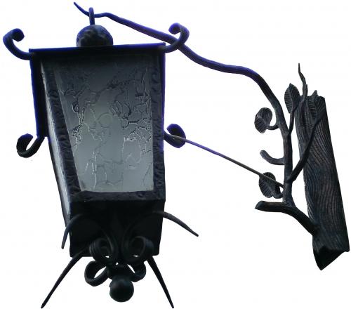 Фонарь фасадный декоративно кованный, ручная робота