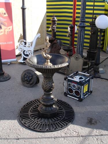 фонтан чугунный http://dekorlit. com/