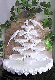 Фонтан мраморный (зимний сад)