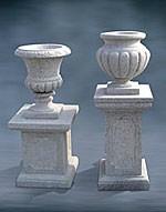 Фонтаны из натурального камня