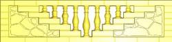 Форма для еврозабора АБС пластик 2мм и ПВХ 1мм. Широкий выбор форм на нашем сайте